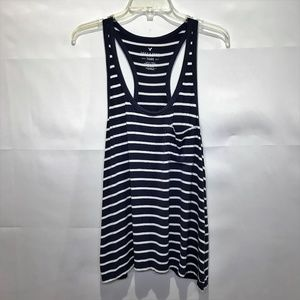American Eagle Outfitters Soft Sexy Navy Tank L